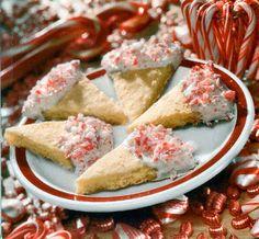Peppermint Shortbread Cookies, 12 Days of Cookies