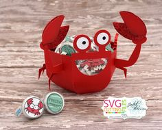 Doxie Mel Designs: SVG Cutting Files Sneak Peek! Crab Bowl