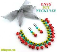 Easy DIY Necklace
