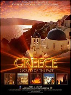 With stunning aerial photography that captures the breathtaking, azure vistas of the Greek Isles, Greece: Secrets of the Past is at once a modern detective stor The Secret 2006, Nia Vardalos, Netflix Dvd, Cincinnati Museum, Rent Movies, Robert D, Greek Wedding, Event Photos, Aerial Photography