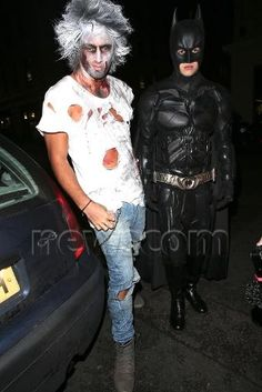 Liam and Andy<3 Can we just take a moment that Liam went as Batman. I. love. him.