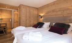 1 of 8 double/twin bedrooms all with ensuite/private bathroom Double Twin, Ski Lift, Contemporary Decor, Switzerland, Living Spaces, Bedrooms, Sleep, Bathroom, Luxury