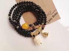 Accesorios de tailandia buda mini dos color círculo de cuentas elefante dios pulsera& collar gran regalo
