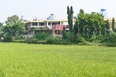 Ratnagiri, unser Hotel, selbst schon fast eine Ruine
