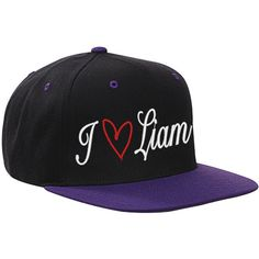 I Love Liam Snapback Hat Cap Love One Direction Harry Louis Niall Zayn... ($20) ❤ liked on Polyvore