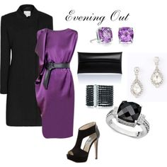 """""""Evening Out"""" by suevis on Polyvore"""