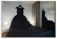 """Dress"" up your headboard."