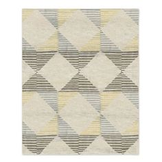 Big rug- Love this geometric pattern and it incorporates all the colors we've talked about.