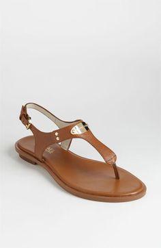 MICHAEL Michael Kors 'Plate' Thong Sandal | Nordstrom.