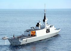French navy frigate Aconit