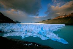 Perito Moreno Glacier, Patagonia, Argentina. Went to Buenos Aires, but didn't make it down to see this!