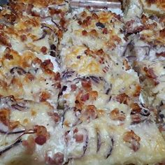 Ring Cake, Hawaiian Pizza, Scones, Mashed Potatoes, Bacon, Cooking Recipes, Ethnic Recipes, Party, Food