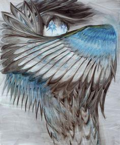Hannaleena Heiska. Altered States. Blizzard King. An artist working with the film, painting and installation. [Source: hannaleenaheiska.com]