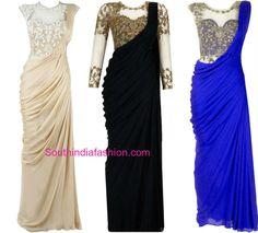 saree_gown_models