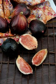 Figs- bought them for the first time this past summer at a farmer's market. Delicious!