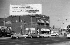 Sun Records, 706 Union Avenue, Memphis mid-1950s  This is where Elvis got his start.