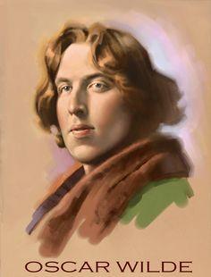 Oscar Wilde by Greg Copeland Oscar Wilde Quotes, Dorian Gray, Old Friends, Portraits, Light In The Dark, Authors, Illustrators, Mona Lisa, Literature