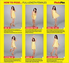 How to pose full-length female portraits: free posing guide Mais Poses For Photos, Picture Poses, Photo Poses, Photography Lessons, Photography Tutorials, Portrait Photography, Free Photography, Portrait Poses, Female Portrait