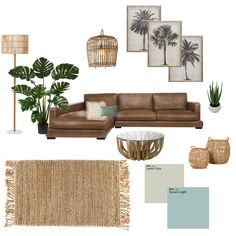 Boho Living Room, Living Room Modern, Living Room Sofa, Living Room Designs, Brown Leather Couch Living Room, Brown Leather Sofas, Brown Sofa, Brown Room Decor, Living Room Decor Brown Couch