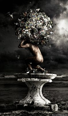 ✯ Atlas holding our world :: Artist Karim Fakhoury ✯