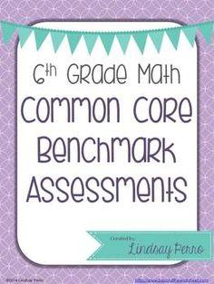 6th Grade Math Common Core Benchmark Exam