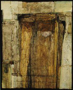 "Artist: Kokichi Umezaki; Paint 2009 Collage ""Requiem,"""
