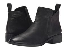 Dolce Vita Tessey Black Leather - Zappos.com Free Shipping BOTH Ways