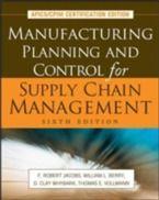 Prezzi e Sconti: #Manufacturing planning and control for supply  ad Euro 128.29 in #Libri #Libri
