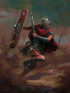 Rome Warrior by LotharZhou.deviantart.com on @DeviantArt