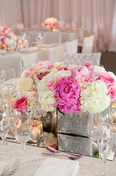 Arguably the world's most romantic flower, the true beauty of the peony is in its size. Brides can gather these blooms together to make one grand arrangement or place single blooms in small vases for an equally huge dose of glamour!