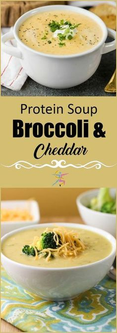BariatricPal Protein Soup is your mealtime solution. Just add water and enjoy your instant high-protein soup. BariatricPal Protein Soup – Broccoli and Cheddar is a creamy comfort food without the…More Detox Recipes, Soup Recipes, Chicken Recipes, Vegetarian Recipes, Cooking Recipes, Healthy Recipes, College Food Recipes, Pescatarian Recipes, Bari