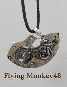 Steampunk Flying monkey