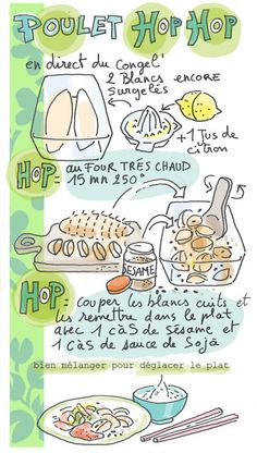 Tambouille» poulet hop hop