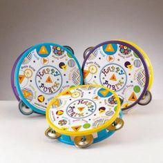 purim tambourines
