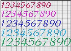 Great chlice of Numbers in several sizes