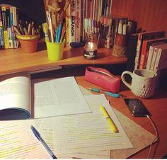 work space #studyhard