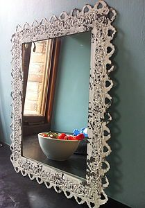 Ornate Framed Mirror - home accessories