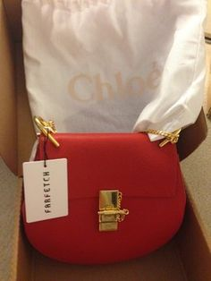 Chloe Drew Mini Leather Black Cross Body Bag | Cross Body Bags ...