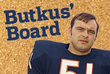 Former Chicago Bear Dick Butkus is an NFL Legend – and now a Pinterest legend too. #NFLFanStyle #contest
