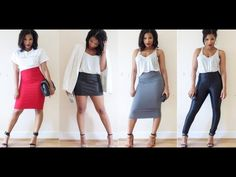 ▶ THE STYLE LIST   4 Current Wardrobe Staples... Day to Night   @Shirley B. Eniang - YouTube