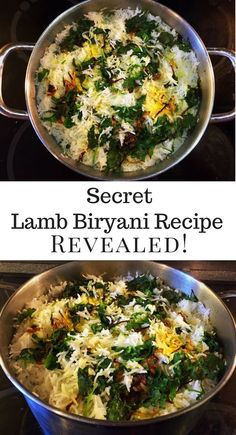 Biryani has long been considered the meal of the Nawabs – princes of ancient India. The recipe was a closely guarded secret, passed along from one generation of royal cooks to the next by word of mouth alone. Here is the secret recipe revealed! It has bee