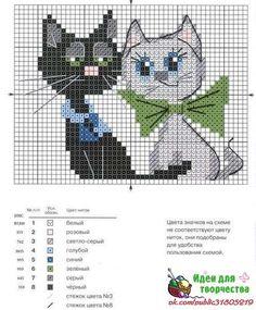 Gatos en punto de cruz (6)
