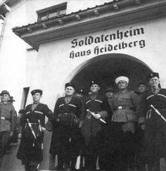 von Renteln cossacks in Heidelberg