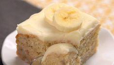Ei jauhoja, sokeria tai maitoa – tämä terveellinen banaanikakku näyttää herkulliselta Tolle Desserts, Köstliche Desserts, Great Desserts, Delicious Desserts, Yummy Food, Health Desserts, Cakes To Make, How To Make Cake, Banana Recipes