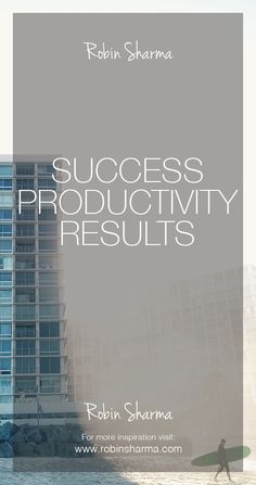 #Success / #productivity / #results often have more to do with what you don't do versus what you do do.