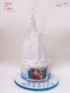 Tarta Frozen - Frozen cake www.tartasdelunallena.blogspot.com maria jose cake designer