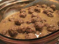 Ragoût de boulettes d'antan Meatball Recipes, Pork Recipes, Cooking Recipes, Healthy Recipes, Canadian Food, Canadian Recipes, Pork Meatballs, Brunch, Entree Recipes