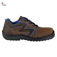 Cofra Mistral S3 SRC Paire de Chaussures de sécurité Taille 47 Marron - Chaussures  cofra (