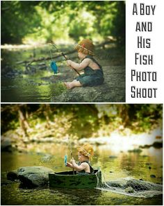 Just a boy and a fish. #photoshoot #6month #baby #photography Photo credits to @threeleavesllc like them on Facebook too! http://www.threeleavesllc.net Crochet Props: Really love what I got on @Etsy from CraftyKsCrochet. #etsystar http://etsy.me/26a5CsF
