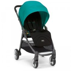A compact, travel-system ready for use with a bassinet or car seat, for babies from birth up to 50 pounds.